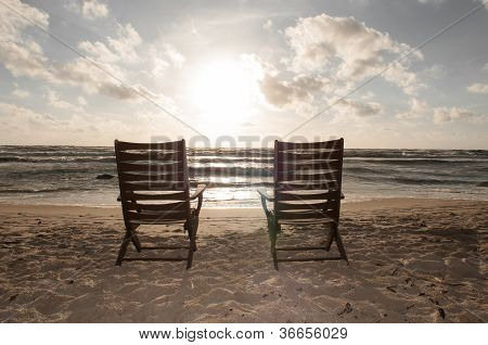 Chairs At The Beach 2