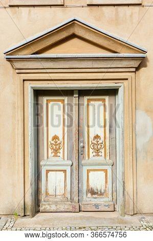 Old Door In Stralsund, Germany