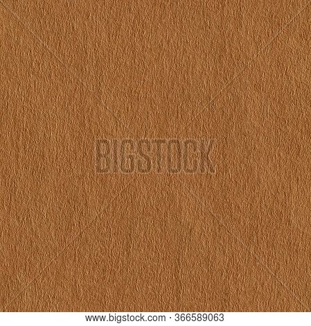 Photo Of Light Brown Paper. Seamless Square Texture. Tile Ready.
