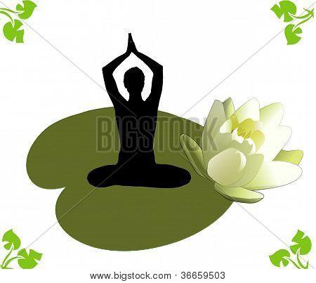 Yoga lotos exercises