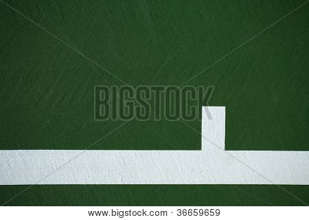 Tennis Court Background with room for Copy Space High Resolution