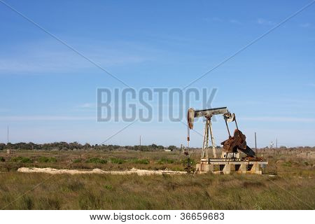 Oil Pump in the South Texas Countryside