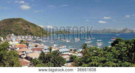 Bay in Flores, Labuanbajo, Indonesia