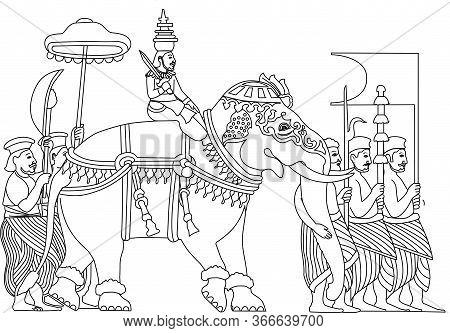 Traditional And Historical Sri Lankan Kandy Perahara Dalada Perahara