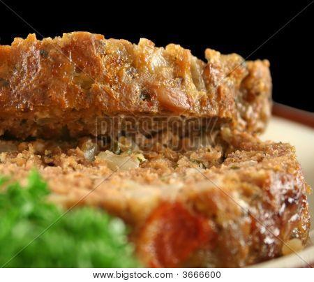 Lamb Meatloaf Sliced