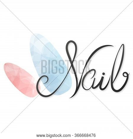 Nails Studio Care Manicure And Painting Symbol For Business