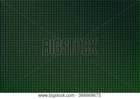 Closeup Led Diode From Led Tv Or Led Monitor Computer Screen Display Panel For Background.