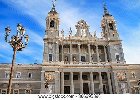 Cathedral Of Santa Maria La Real De La Almudena, Cathedral Of The Archdiocese Of Madrid