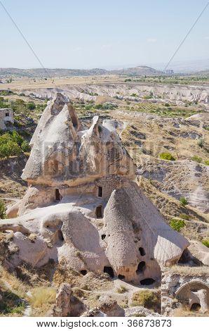 Photo Of Man Made Caves In Uchisar, Turkey