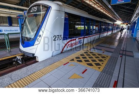 Malaysia Lrt Train, Transportation To Work, Travel And Shopping