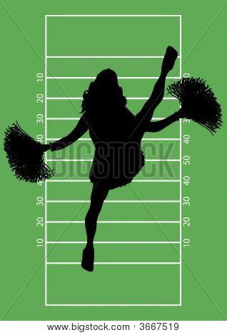 Football Cheerleader 5