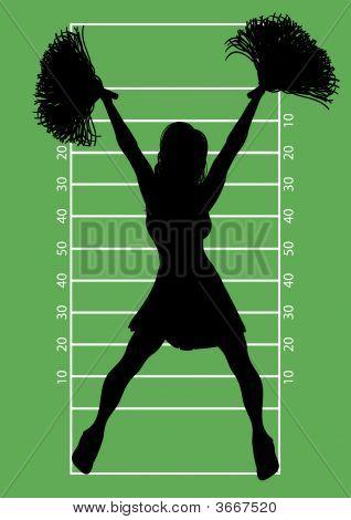 Football Cheerleader 6