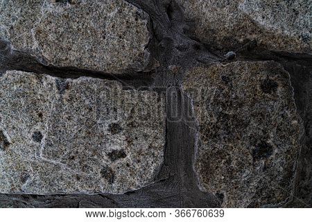 Graphic Resources Masonry Texture Of Rock Stones. Facade Of Knowledge. The Architectural Solution Is