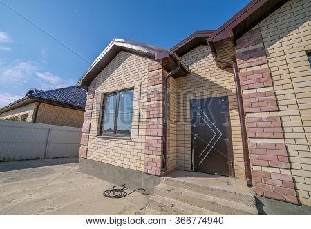 Brick New House In One Floor