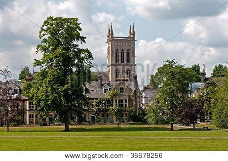 Church in Cambridge city