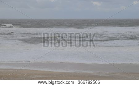 Coastal Landscape And Beach From The Island Of Sylt