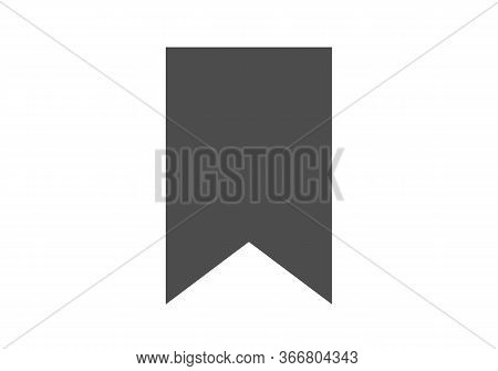 Bookmark Icon Isolated On White Background. Bookmark Icon In Trendy Design Style