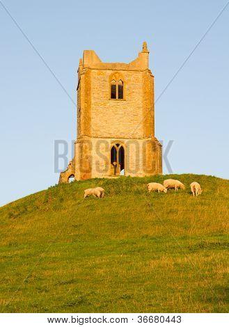 Burrow Mump Somerset England
