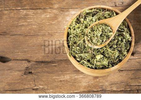 Leaves Of The Stevia Plant - Stevia Rebaudiana. Sweetener