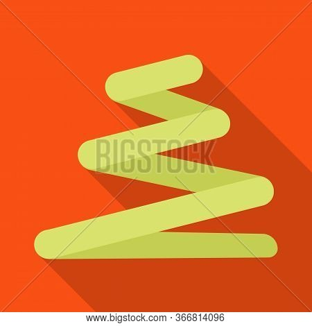Vector Design Of Coil And Detail Sign. Graphic Of Coil And Spiral Vector Icon For Stock.