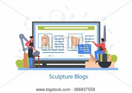 Professional Sculptor Online Gallery. Creating Sculpture Of The Marble,
