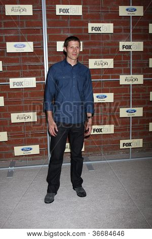 LOS ANGELES - SEP 10:  Zach Gilford arrives at the FOX Eco-Casino Party 2012 at Bookbindery on September 10, 2012 in Culver City, CA