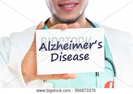 Doctor Alzheimers Disease Alzheimer Alzheimers Ill Illness Healthy Health