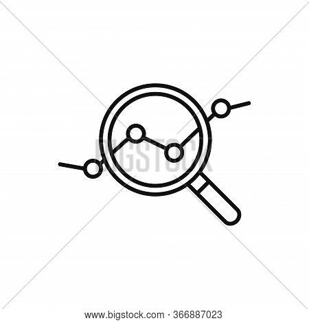 Analysis Icon Isolated On White Background. Analysis Icon In Trendy Design Style. Analysis Vector Ic