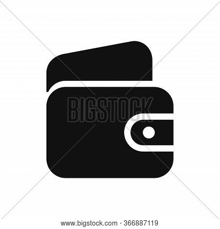 Wallet Icon Isolated On White Background. Wallet Icon In Trendy Design Style. Wallet Vector Icon Mod