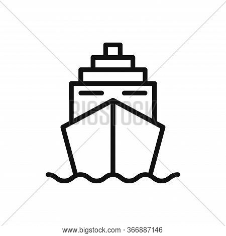 Cruise Icon Isolated On White Background. Cruise Icon In Trendy Design Style. Cruise Vector Icon Mod