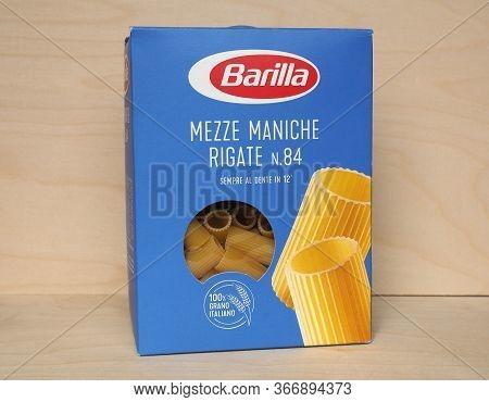 Parma - Apr 2020: Barilla Pasta Packet