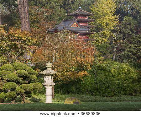 Japanese Tea Garden, autumn