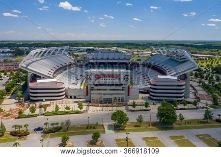 May 06, 2020 - Columbia, South Carolina, USA: Williams-Brice Stadium is the home football stadium for the South Carolina Gamecocks, representing the University of South Carolina