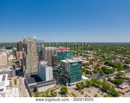 April 23, 2020 - Raleigh, North Carolina, USA: Raleigh is the capital of the state of North Carolina and the seat of Wake County in the United States. Raleigh is the second-largest city in the state