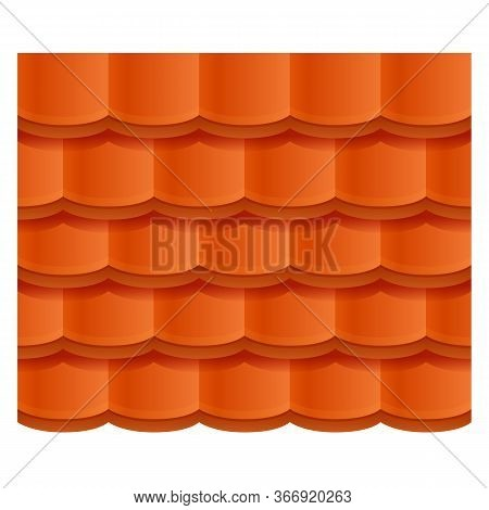 Sheet Roof Icon. Cartoon Of Sheet Roof Vector Icon For Web Design Isolated On White Background