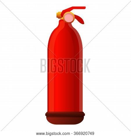 Handle Fire Extinguisher Icon. Cartoon Of Handle Fire Extinguisher Vector Icon For Web Design Isolat