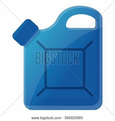 Auto Canister Icon. Cartoon Of Auto Canister Vector Icon For Web Design Isolated On White Background