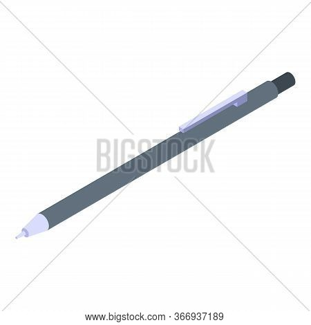 Oculist Pen Icon. Isometric Of Oculist Pen Vector Icon For Web Design Isolated On White Background