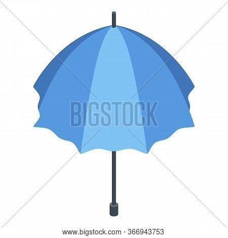 Umbrella Accessory Icon. Isometric Of Umbrella Accessory Vector Icon For Web Design Isolated On Whit
