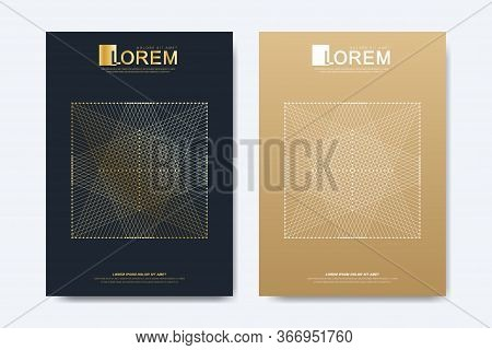 Modern Vector Template For Brochure Leaflet Flyer Advert Cover Magazine Or Annual Report. A4 Size. B