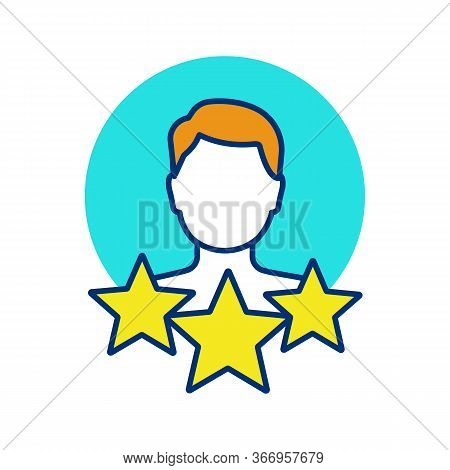 Professional Experience Color Icon. Profile Rating. User Reviews And Feedback. Work History. Custome