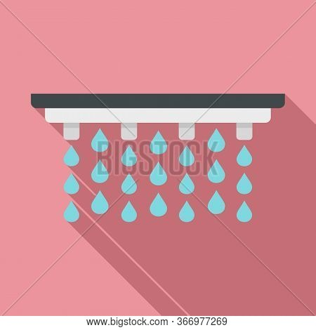 Irrigation System Icon. Flat Illustration Of Irrigation System Vector Icon For Web Design