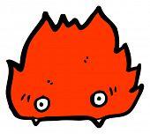 cartoon furry little monster cartoon poster