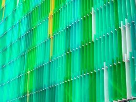 Acrylic Plastic Sheet Interior Five Level And Color Moss Green Aqua