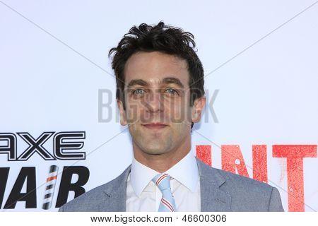 LOS ANGELES - MAY 29:  B. J. Novak arrives at the