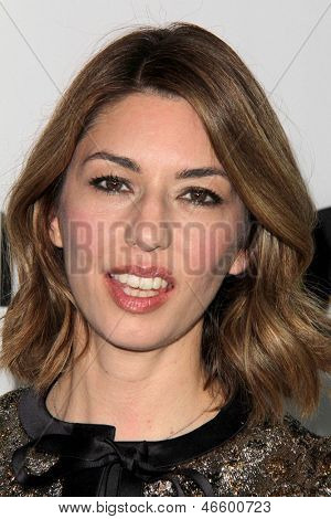 """LOS ANGELES - JUN 4:  Sofia Coppola arrivesa at the """"The Bling Ring"""" Los Angeles Premiere at the DGA Theater on June 4, 2013 in Los Angeles, CA"""