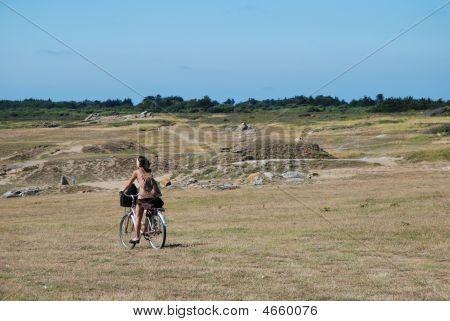 Pretty Woman Bicycling