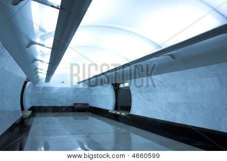 moderne u-Bahnstation