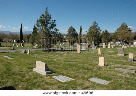 Cemetery In St. George, Utah