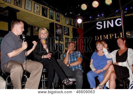 LOS ANGELES- JUN 1: Michael Maloney, Judi Evans, Wally Kurth, Patrika Darbo, Crystal Chappell at the Judi Evans Celebrates 30 years in Show Business event at the Dimples on June 1, 2013 in Burbank, CA